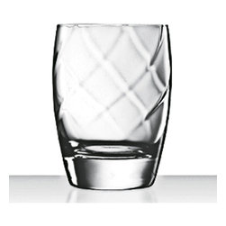 Luigi Bormioli - Luigi Bormioli Canaletto 12-oz Double Old Fashioned Glasses (Set of 4) - Luigi Bormioli stemware is beautifully crafted in Italy. Dishwasher safe yet beautiful enough for all of your entertainment needs, our stemware, tumblers and serveware allow you to experience fine Italian glassware.