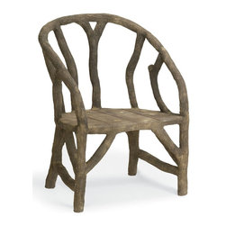 Currey and Company - Currey and Company Arbor Traditional Chair With Crate - Currey and Company Arbor Traditional Chair with Crate X-1072