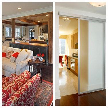 Open vs closed kitchen - Closed kitchen design ...