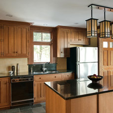 Traditional Kitchen by Woodbourne Builders Inc
