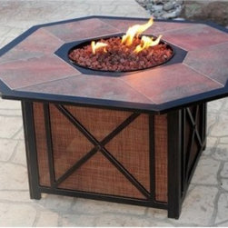 Charter Tile Top Gas Fire Pit - Let the Charter Tile Top Gas Fire Pit take the bite out of those chilly nights. This fine fire pit has a contemporary style that you and your guests will love. With flames lapping around the included lava rocks this fire pit is just the thing to make some warming memories. About SEI (Southern Enterprises Inc.)This item is manufactured by Southern Enterprises or SEI. Southern Enterprises is a wholesale furniture accessory import company based in Dallas Texas. Founded in 1976 SEI offers innovative designs exceptional customer service and fast shipping from its main Dallas location. It provides quality products ranging from dinettes to home office and more. SEI is constantly evolving processes to ensure that you receive top-quality furniture with easy-to-follow instruction sheets. SEI stands behind its products and service with utmost confidence.