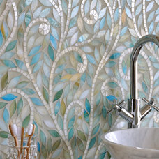 contemporary bathroom tile by New Ravenna Mosaics
