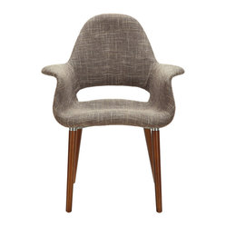 Veer Taupe Accent Chair