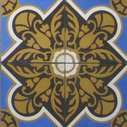 Cuban Heritage 110 - 8x8 Cement Tile