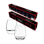 Riedel - Riedel O Cabernet-Viognier Value Pack - Your wine, your way — stylishly stemless. This set of lead-free crystal offers four Cabernet and four chardonnay wine tumblers at a price you'll surely toast to.