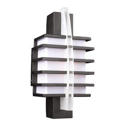 PLC Lighting - PLC Lighting PLC 16602 Single Light Outdoor Wall Sconce Carre Collectio - PLC Lighting PLC 16602 Contemporary / Modern Single Light Outdoor Wall Sconce from the Carre CollectionSince 1989, PLC Lighting, Inc. has continued to provide our customers with both contemporary and traditional lighting fixtures in a multitude of styles. Their products can be found in showrooms throughout North, Central and South America, as well as the Caribbean Islands. They furnish the finest residences, hotels, restaurants, and office complexes all over the world.Features: