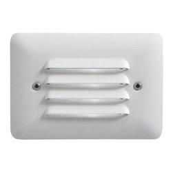 Kichler - Kichler 15782WHT Deck LED 1W Step light Lndscp - Kichler 15782WHT Deck LED 1W Step light Lndscp