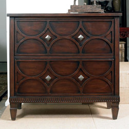 Hooker Furniture - 36 in. Chest w 2 Drawers - 36 in. W x 17 in. D x 34 in. H
