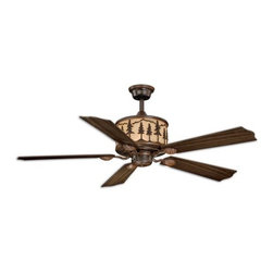 "Vaxcel Lighting - Vaxcel Lighting F0011 Yosemite 56"" 5 Blade Indoor Ceiling Fan with Reversible Mo - Features:"