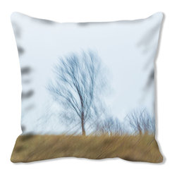Hand Made by the Artist - Throw Pillow DSC03413 with Sky Blue Faux Suede Back, 30x30 - The Affairs of the Art & Love is a Pillow custom pillows will make you the envy of the neighborhood.