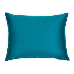 "Blooming Home Decor - Solid Sateen Turquoise Accent / Throw Pillow Cover - (Available in 16""x16"", 18""x18"", 20""x20"", 24""x24"", 26""x26"", 20""x26"" , 20""x36"", 20""x54"")"