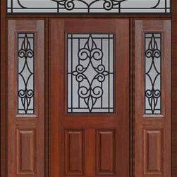 """Prehung Sidelites-Transom Door 80 Fiberglass Salento 1/2 Lite - SKU#MCT012WSA_DFHSAG1-2RSAGBrandGlassCraftDoor TypeExteriorManufacturer Collection1/2 Lite Entry DoorsDoor ModelSalentoDoor MaterialFiberglassWoodgrainVeneerPrice4105Door Size Options32"""" + 2( 14"""")[5'-0""""]  $036"""" + 2( 14"""")[5'-4""""]  $036"""" + 2( 12"""")[5'-0""""]  $0Core TypeDoor StyleDoor Lite Style1/2 LiteDoor Panel Style2 PanelHome Style MatchingDoor ConstructionPrehanging OptionsPrehungPrehung ConfigurationDoor with Two Sidelites and Rectangular TransomDoor Thickness (Inches)1.75Glass Thickness (Inches)Glass TypeDouble GlazedGlass CamingGlass FeaturesTempered glassGlass StyleGlass TextureGlass ObscurityDoor FeaturesDoor ApprovalsEnergy Star , TCEQ , Wind-load Rated , AMD , NFRC-IG , IRC , NFRC-Safety GlassDoor FinishesDoor AccessoriesWeight (lbs)663Crating Size36"""" (w)x 108"""" (l)x 89"""" (h)Lead TimeSlab Doors: 7 Business DaysPrehung:14 Business DaysPrefinished, PreHung:21 Business DaysWarrantyFive (5) years limited warranty for the Fiberglass FinishThree (3) years limited warranty for MasterGrain Door Panel"""