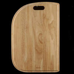 Houzer - Cutting Board for 70-30 Kitchen Sinks - For use with Houzer products only. Fits MC-3210, PMC-3322, RMC-3322. Hardwood cutting board. Reversible and designed to fit both undermount and topmount. 13.5 in. x 19.75 in. x 0.75 in.T . Oak. 1 Year Warranty. 13.5 in. W x 19.75 in. H x in. D. Product Specifications