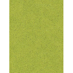 Apple Martini Caesarstone - Not for the faint of heart, but if you really want to show off your countertops, why not go for lime green? I guarantee no one will ever forget a dinner party in a kitchen with this unique shade of Caesarstone!