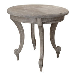 Trade Winds - New Trade Winds End Table Riverwash Painted - Product Details