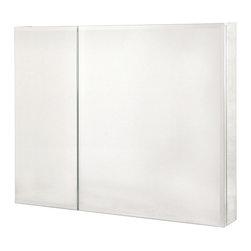 "Pegasus - Pegasus 30 x 36 Medicine Cabinet with Bi-View Beveled Mirror (SP4587) - Pegasus SP4587 30"" x 36"" Medicine Cabinet with Bi-View Beveled Mirror"