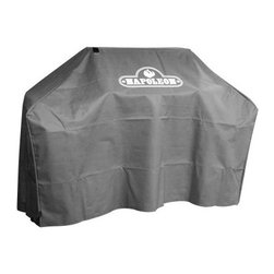 Napoleon Grill Cover for 308 and Ultra Chef 405 Series - The product specialists at Hayneedle have been extensively trained by the manufacturer of Napoleon grills. These specialists know the product inside and out, top to bottom, front to back. They're here to help you with every step of your Napoleon grill purchasing process. Learn everything you need to know as you customize your grill island with drawers, doors, pizza ovens and more! Call 866-579-5183 to speak with a product specialist and start building your dream grill island today. Hours: Monday-Friday 9 a.m.-7 p.m. E.T.About Napoleon GrillsRising up from its humble beginnings in Barrie, Ontario, Canada, Napoleon Gourmet Grills has become North America's largest privately owned manufacturer of top-of-the-line wood and gas fireplaces, gourmet gas and charcoal grills, waterfalls, and outdoor living products. It all started 1976 when Wolfgang Schroeter started manufacturing steel railings. His designs proved to be a great success and soon enough he was producing an original stove with a solid cast iron two-door design in a 1,000 square foot facility. And over the past 30 years his company Wolf Steel Ltd's dedication to innovative patented technology has lead to the exclusive infrared grilling experience, and two new departments: Napoleon Fireplaces, and, of course, Napleon Gourmet Grills. Today, this company operates with over 500,000 square feet and over four-hundred hard workers in its employ.