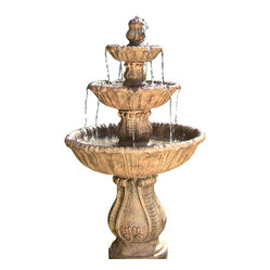Classic Decorative 3 Tier Fountain