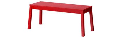 SIGURD Bench - red - IKEA