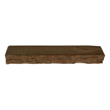 """Punky Hill - Punky Hill 28"""" x 6"""" x 3"""" Distressed Shelf - Punky Hill distressed shelves feature a unique saw mill and hand hewn appearance.  Transform your wall into a show place with a Punky Hill shelf.  If you can wish to install this as a floating shelf then please include 2 invisible shelf brackets with your order."""