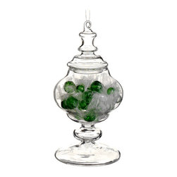 Silk Plants Direct - Silk Plants Direct Candy in Glass Jar Ornament (Pack of 6) - Silk Plants Direct specializes in manufacturing, design and supply of the most life-like, premium quality artificial plants, trees, flowers, arrangements, topiaries and containers for home, office and commercial use. Our Candy in Glass Jar Ornament includes the following: