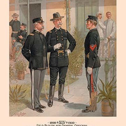 Buyenlarge.com, Inc. - Field Blouse for General Officers; Undress Uniform for Officers and Enlisted Men - Another high quality vintage art reproduction by Buyenlarge. One of many rare and wonderful images brought forward in time. I hope they bring you pleasure each and every time you look at them.