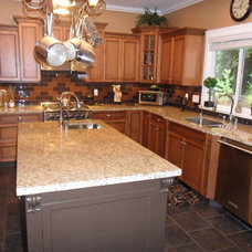 Traditional Kitchen Countertops by Archstone Countertops
