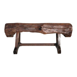 Groovystuff - Groovystuff Feed Trough Garden Bench in Honey - Features: