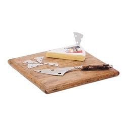 Go Home Ltd - Go Home Ltd Cheese Knife and Marker Set X-63011 - Go Home Ltd Cheese Knife and Marker Set X-63011