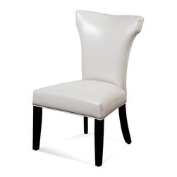 Bassett Mirror Company - Bassett Mirror Concorde Nailhead Parsons Chair w/ Kleen Seat [Set of 2], Taupe - Nailhead Parsons Chair w/ Kleen Seat belongs to Concorde Collection by Bassett Mirror Company Bassett Mirror Co. Concorde Wood Leg Cap Sleeve Parsons From sleek, contemporary lines to classic designs with timeless appeal Parsons Chair (2)