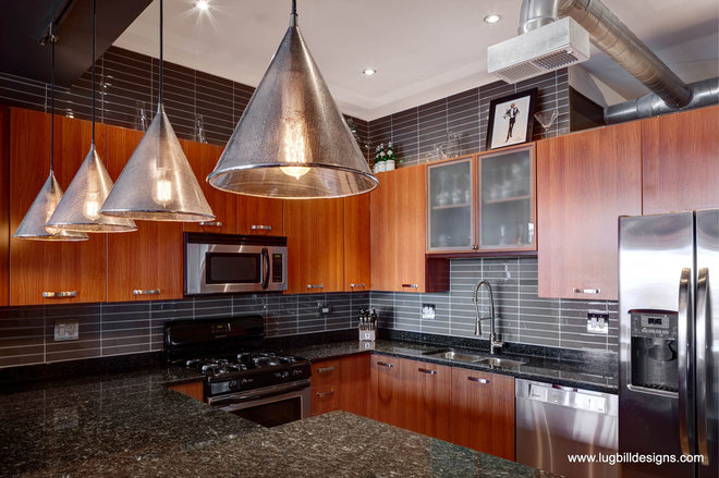 Contemporary Kitchen by Lugbill Designs