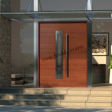 Contemporary Front Doors by Foret Doors