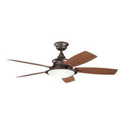 "Kichler Lighting - Kichler Lighting 310104WCP Cameron 52"" Transitional Indoor/Outdoor Ceiling Fan - Kichler Lighting Cameron 52"" Transitional Indoor/Outdoor Ceiling Fan X-PCW401013"