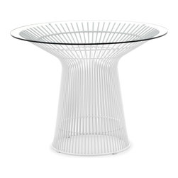 Zuo Modern - Zuo Modern Wetherby Modern Dining Table X-420107 - The Wetherby table is a great piece of classic modern design. The frame is solid chrome and the top is 10mm thick tempered glass. Strong enough to hold up to all elements.