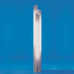 Chimera floor, design by Vico Magistretti - 1969 - Floor standing luminaire for diffused fluorescent lighting.