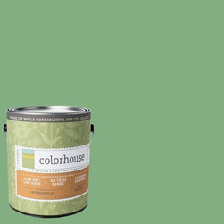 Inspired Flat Interior Paint, Thrive .05, Gallon - Colorhouse paints are zero VOC, low-odor, Green Wise Gold certified and have superior coverage and durability.   Our artist-crafted colors are designed to be easy backdrops for living. Colorhouse paints are 100% acrylic with NO VOCs (volatile organic compounds), NO toxic fumes/HAPs-free, NO reproductive toxins, and NO chemical solvents.