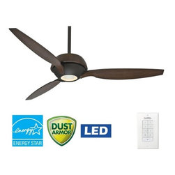 "Casablanca - Casablanca 59119 Riello 60"" 3 Blade Energy Star Ceiling Fan - LED Light Kit, Bla - Included Components:"