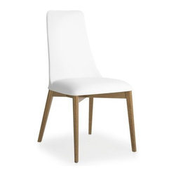Calligaris - Calligaris   Etoile Leather Chair - Deisgn by Studio 28.