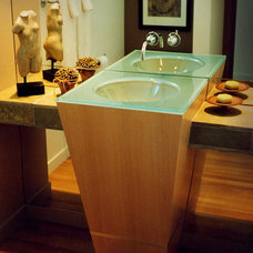 Contemporary Bathroom Sinks by Glassworks, Inc.