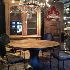 Eclectic Dining Tables by Cornerstone Home Interiors
