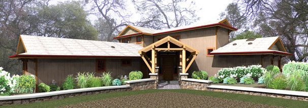 Contemporary Rendering by Hyland Fisher - Architect