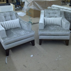 Traditional Chairs by Monarch Sofas