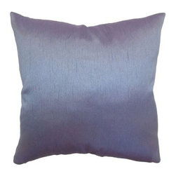 The Pillow Collection Rosamund Solid Pillow - Violet - The silky, serene Rosamund Solid Pillow Violet will be a calming point of interest in your home. Chic and versatile, it's an easy pillow to pair with other patterns. Made of 100% luxurious silk, this pillow will become one of your favorites.About The Pillow CollectionIdentical twin brothers Adam and Kyle started The Pillow Collection with a simple objective. They wanted to create an extensive selection of beautiful and affordable throw pillows. Their father is a renowned interior designer and they developed a deep appreciation of style from him. They hand select all fabrics to find the perfect cottons, linens, damasks, and silks in a variety of colors, patterns, and designs. Standard features include hidden full-length zippers and luxurious high polyester fiber or down blended inserts. At The Pillow Collection, they know that a throw pillow makes a room.