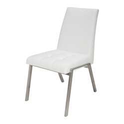 Phyl Dining Chair, Set of 2, White
