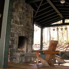 Traditional Fireplaces by Adirondack Camp Design LLC