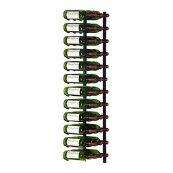 VintageView - VintageView 36-Bottle Metal Wine Rack - Put your wine savvy on display. This metal rack shows off your finest vintages and fits just about anywhere.