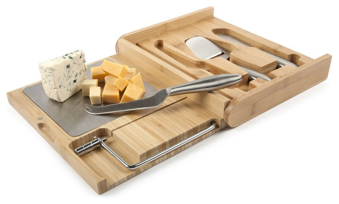 Modern Cheese Knives by Core Bamboo
