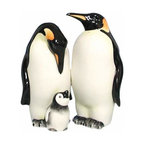 WL - Black and White Penguins With Baby Salt and Pepper Shakers - This gorgeous 3.5 Inch Black and White Penguins with Baby Salt and Pepper Shakers has the finest details and highest quality you will find anywhere! 3.5 Inch Black and White Penguins with Baby Salt and Pepper Shakers is truly remarkable.