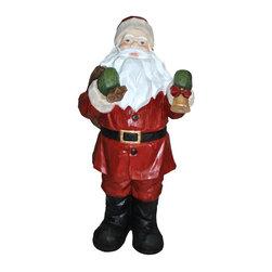 Alpine - Santa Statue - 45 inch - Features: