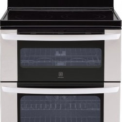 LG - LDE3037ST 6.7 cu. ft. Capacity Electric Freestanding Range With Double Oven  Inf - Grill all year long with the Infrared grilling system with the LG LDE3037S 67 cu ft double oven electric range infrared Grill Upper Oven only It is an infrared-heating element that gets your oven to reach broil temperature more quickly and cuts over ...